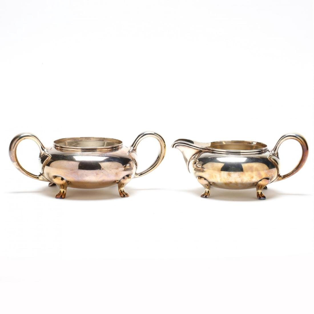 Towle Sterling Silver Tea & Coffee Service - 8