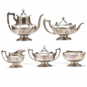 Reed & Barton Sterling Silver Tea & Coffee Service