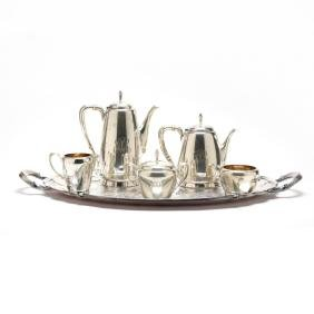 """Reed & Barton """"Town & Country"""" Sterling Silver Tea &"""