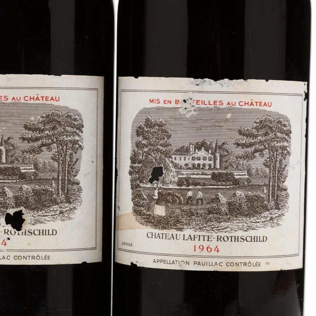 Chateau Lafite-Rothschild - Vintage 1964 - 2