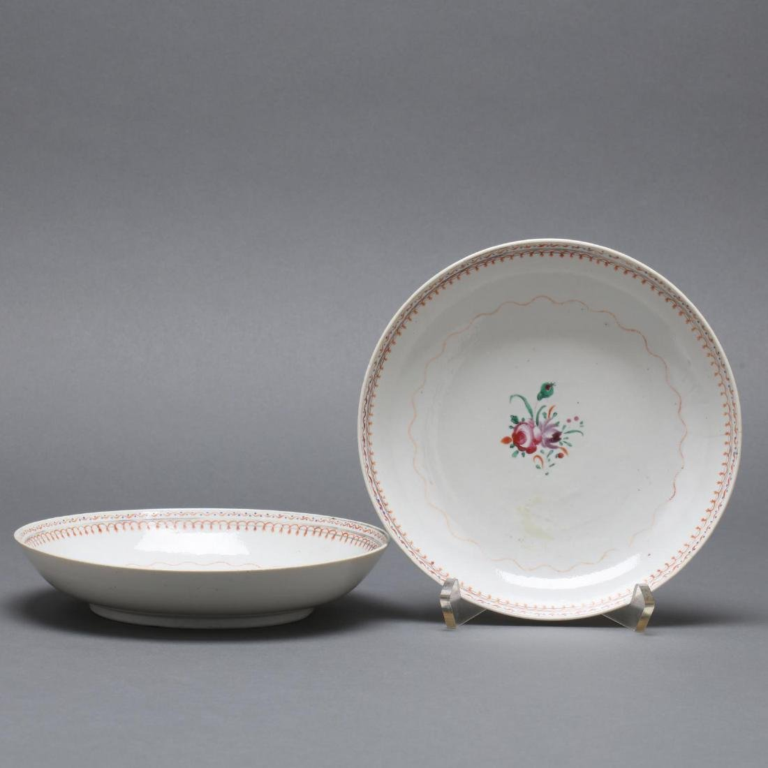 Pair of Chinese Export Bowls
