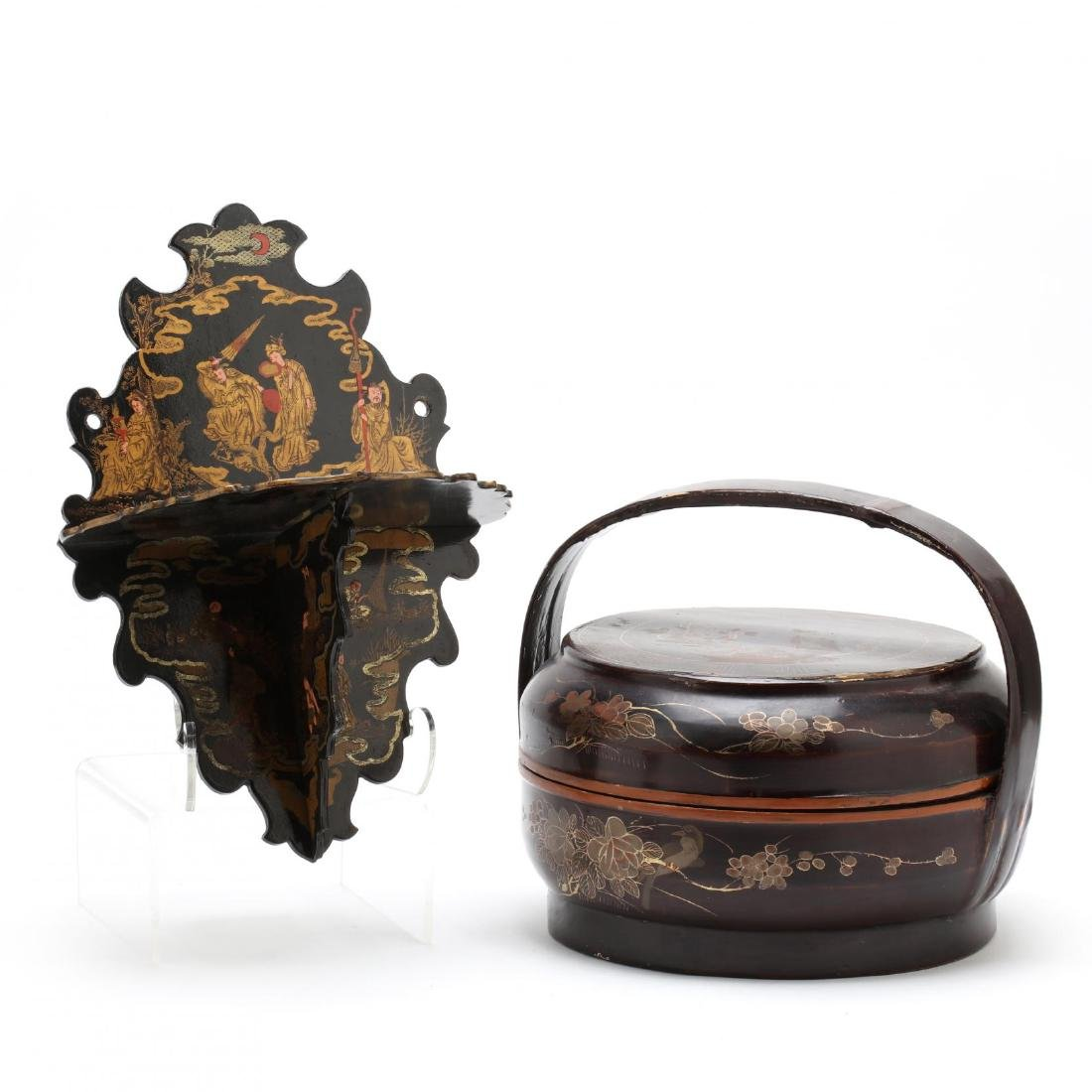 Two Asian Chinoiserie Objects