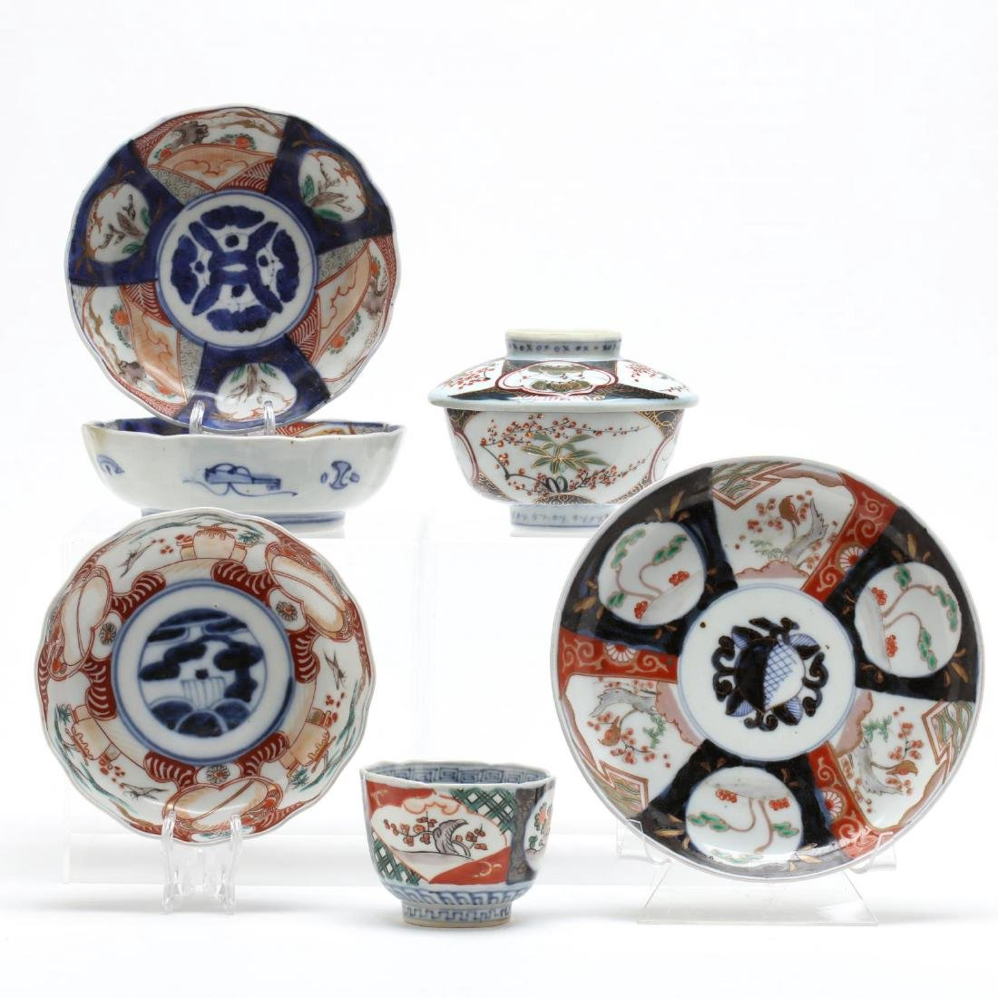 Six Pieces of Japanese Imari
