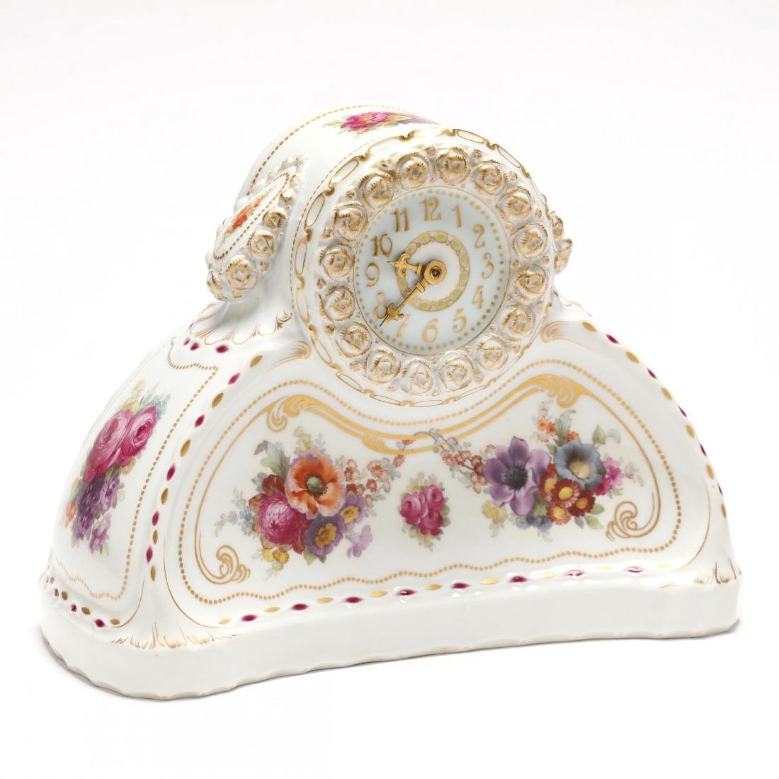 KPM, Porcelain Mantle Clock