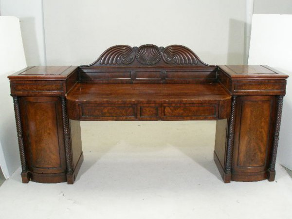 8: Continental Sideboard, Probably German, 19th c.,
