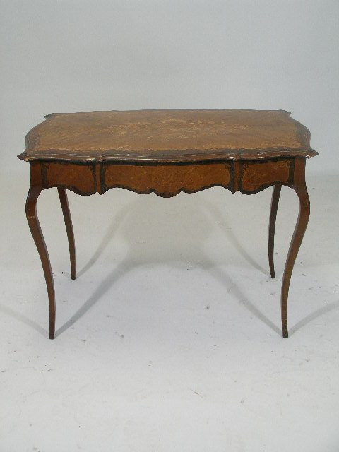 9: Inlaid Writing Desk, French, early 20th c.,