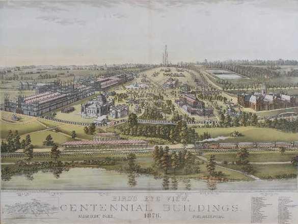 "23: ""Centennial Building Fairmount Park Philadelphia"""