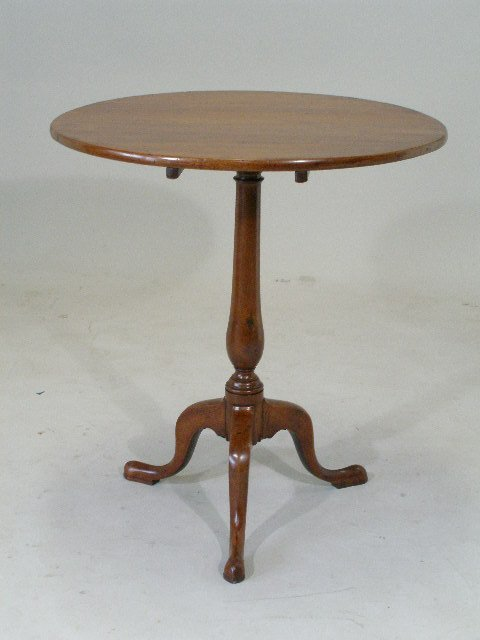 241: Southern Tilt Top Table, Eastern NC or SC, c.1800,
