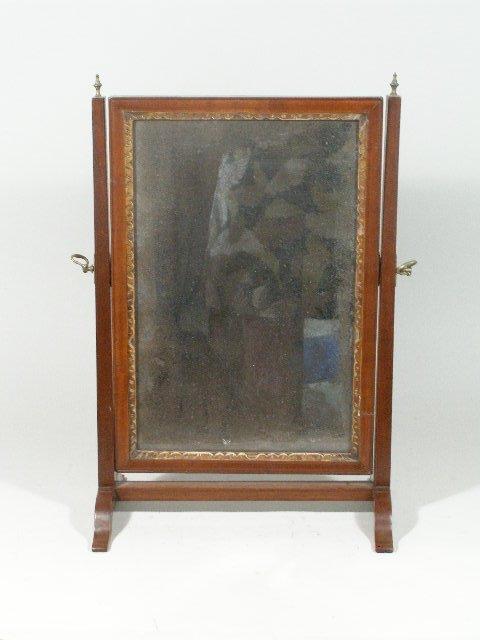 1006: Shaving Mirror, English, c.1800,