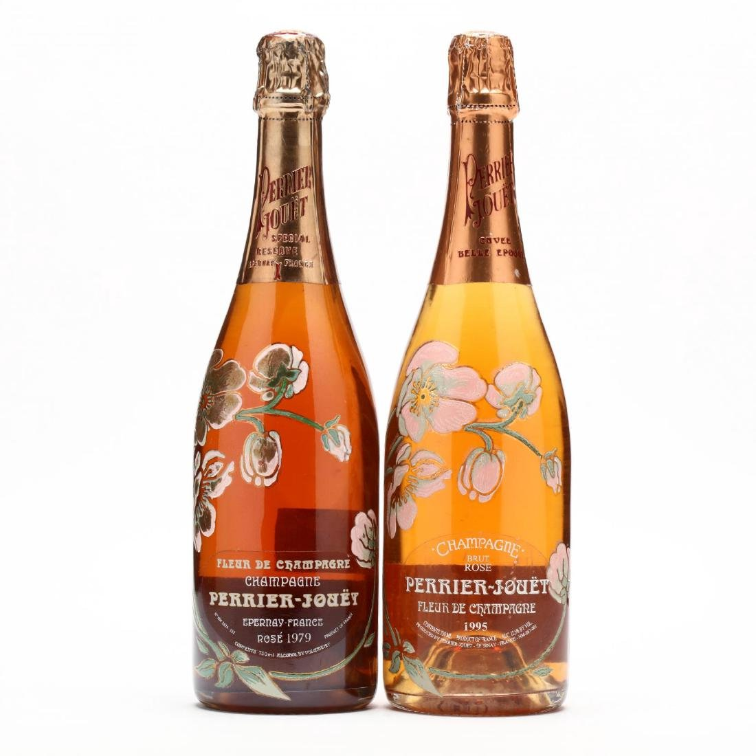 1979 & 1995 Perrier-Jouet Champagne