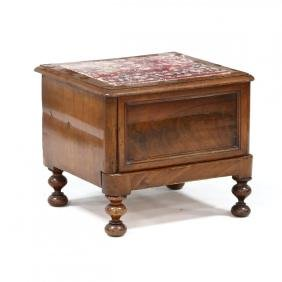 Georgian Bed Step Commode