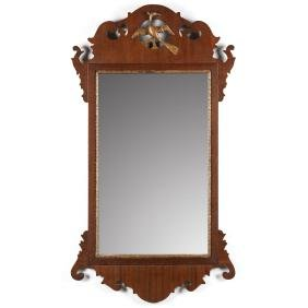 Chippendale Style Looking Glass