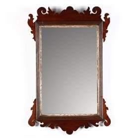 Chippendale Diminutive Looking Glass