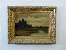 55: Oil on Canvas, 20th c., American school,