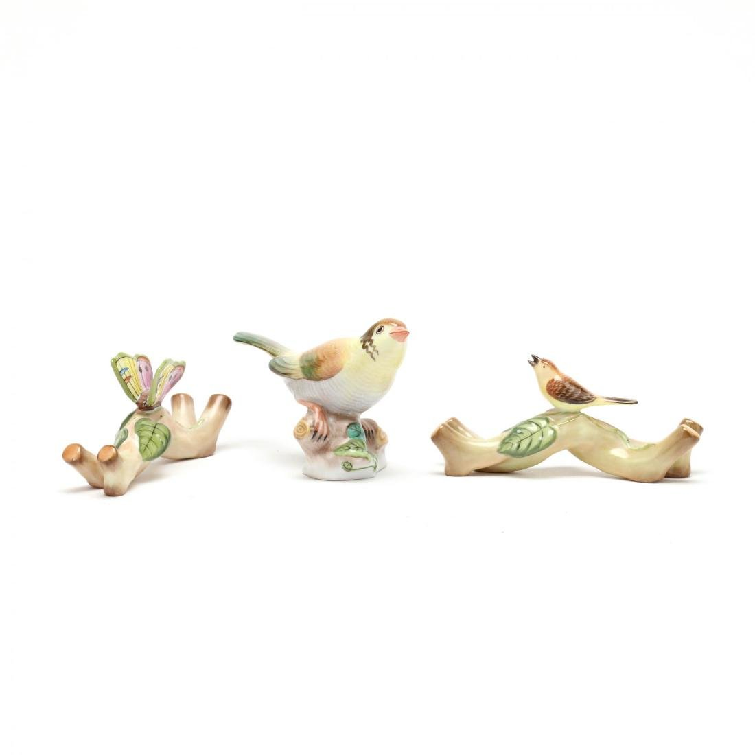 Three Herend Porcelain Figures