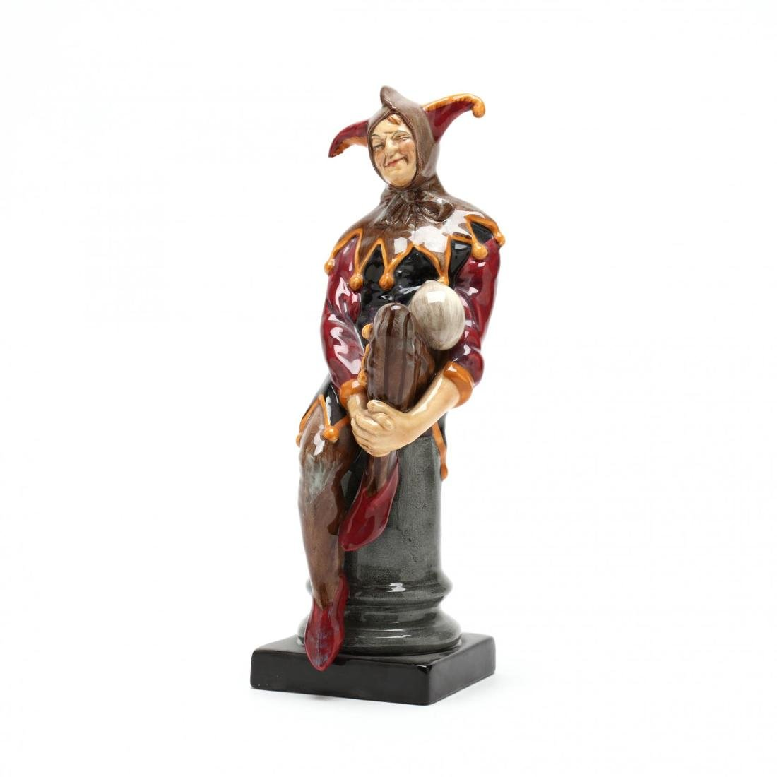 "Royal Doulton, ""The Jester"" Figure"