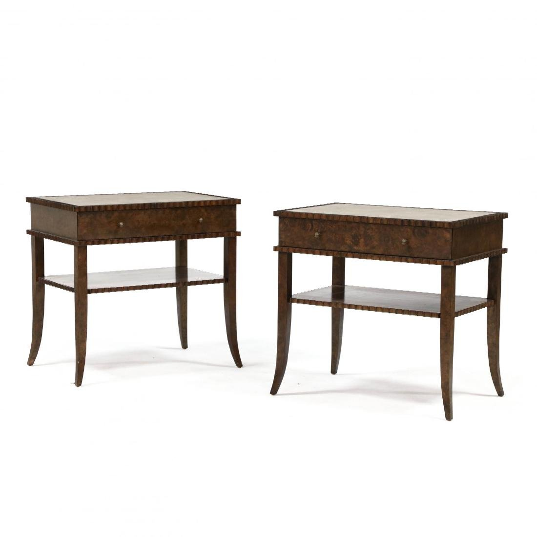 """William Yeoward Collection, Pair of """"Huxley"""" One Drawer"""