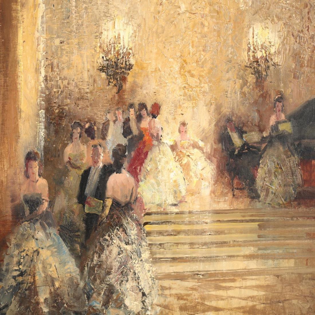Ludwig Gschossmann (German, 1894-1988), Ballroom Scene - 3