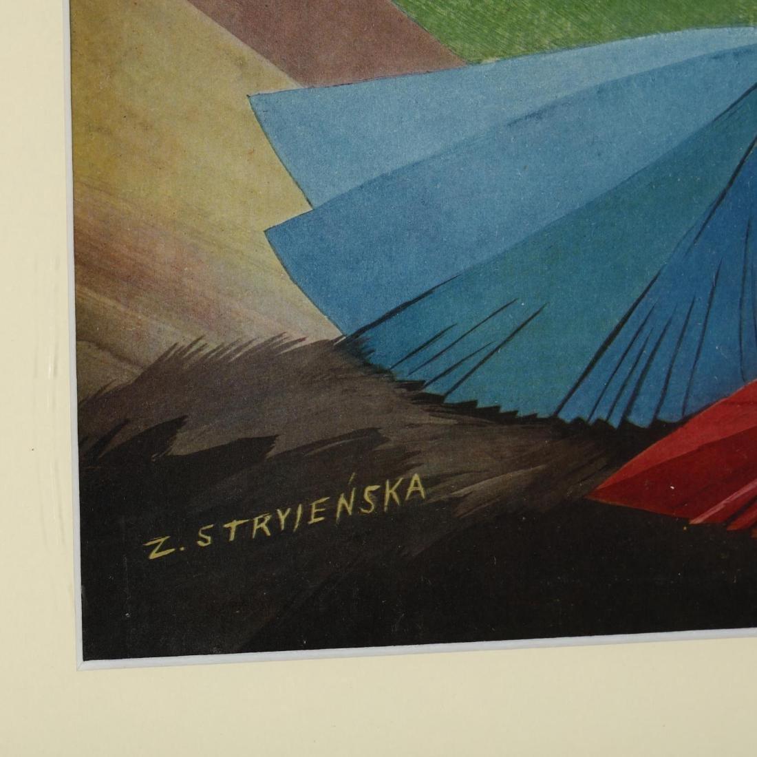 after Zofia Stryieãska (Polish, 1891-1976), Scene with - 2