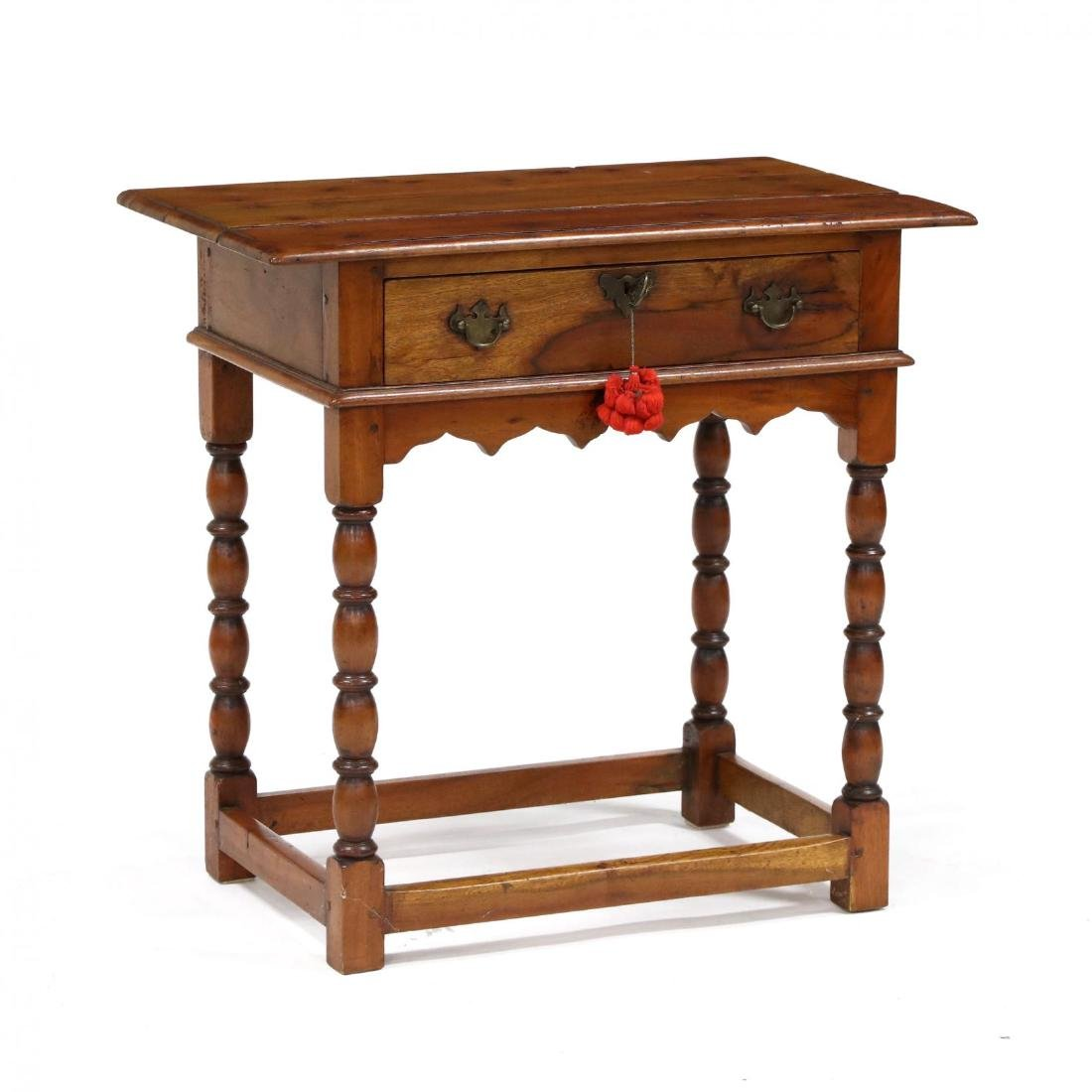 French Provincial One Drawer Work Table