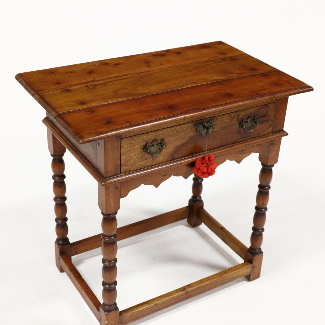 French Provincial One Drawer Work Table - 2