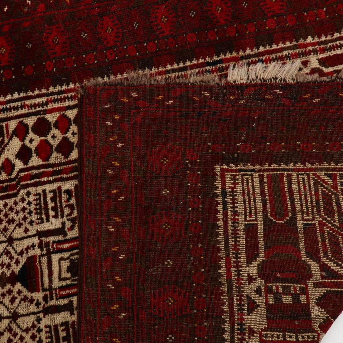 Afghan Baluch Area Rug - 3