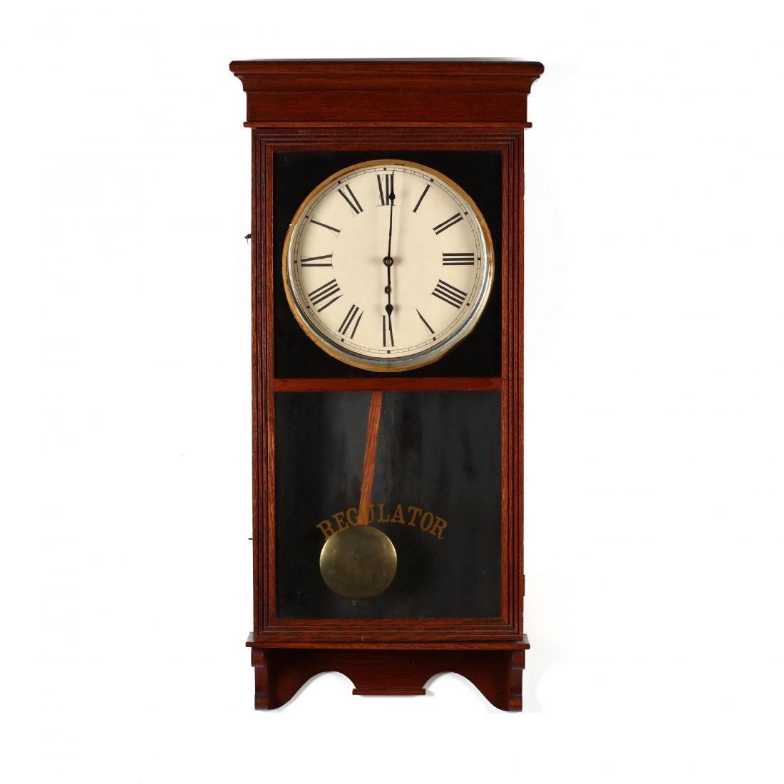 Vintage Regulator Wall Clock