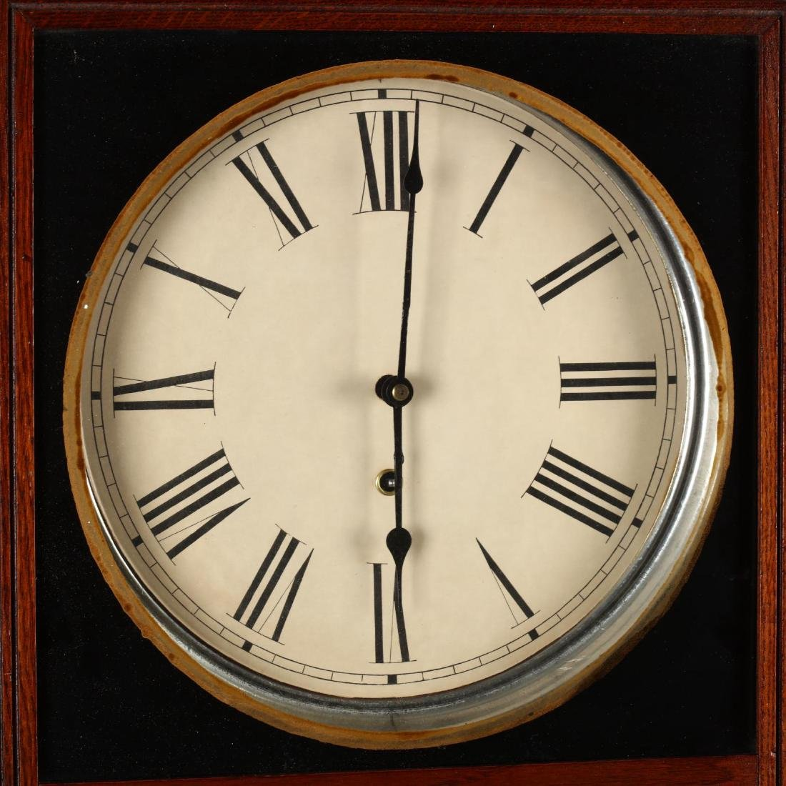 Vintage Regulator Wall Clock - 2