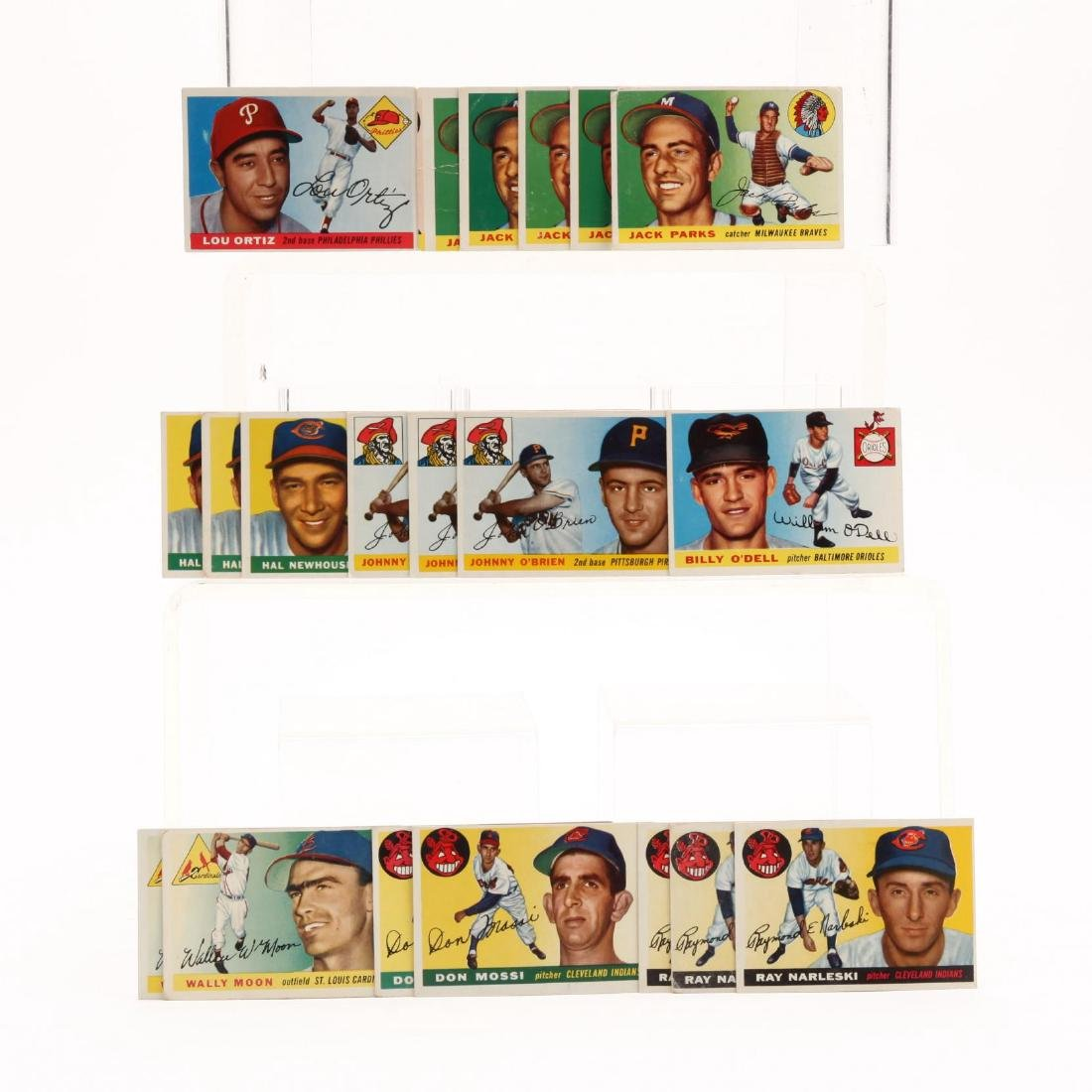 Collection of Over 175 1950s Topps Baseball Cards - 3