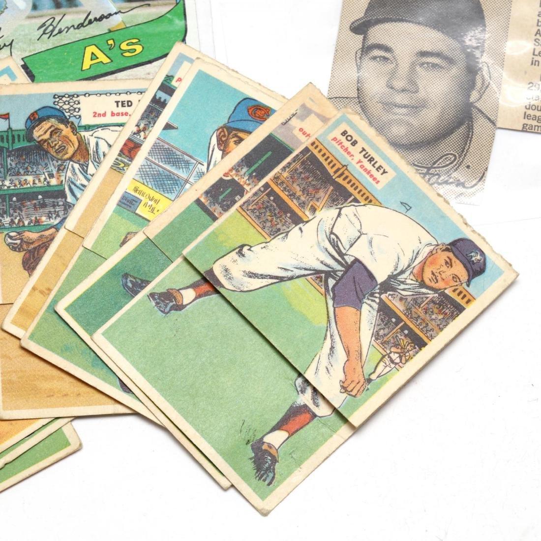 Vintage Baseball Cards and Ephemera Grouping - 2