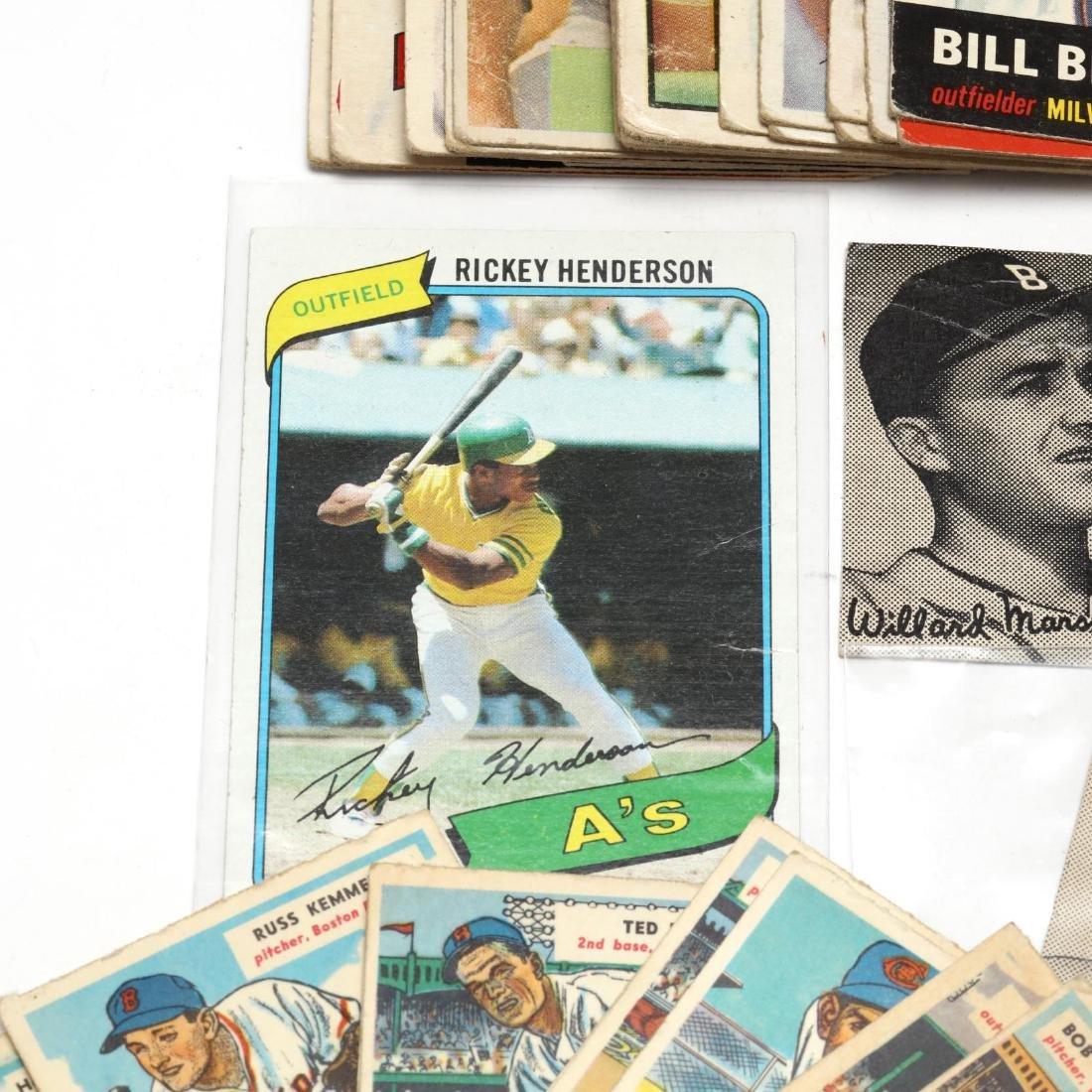 Vintage Baseball Cards and Ephemera Grouping - 3