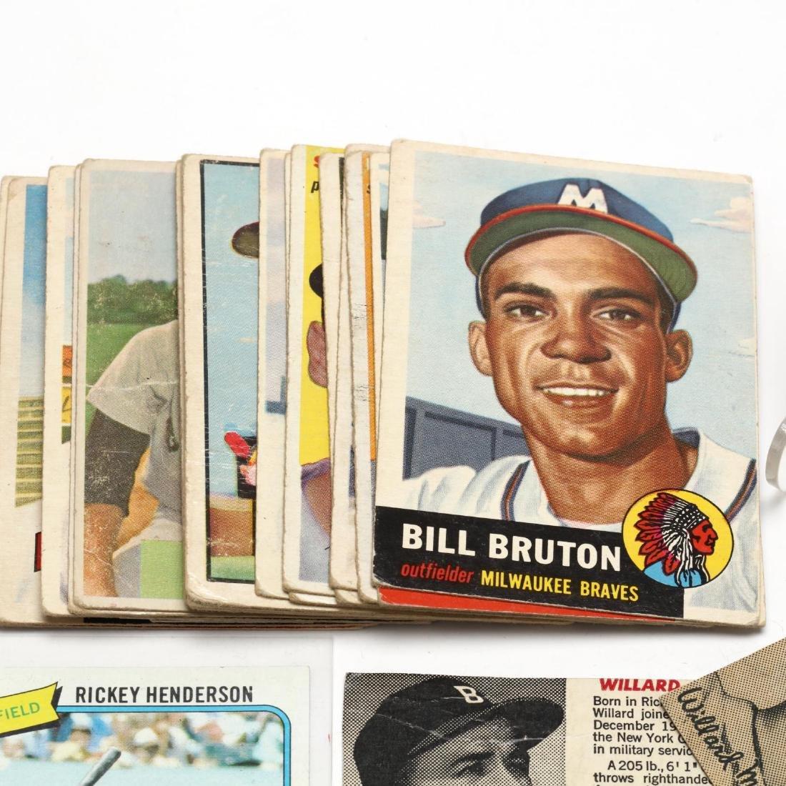 Vintage Baseball Cards and Ephemera Grouping - 5