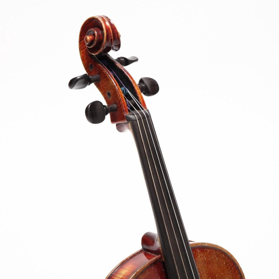 Vintage Czechoslovakian John Juzek Viola - 3