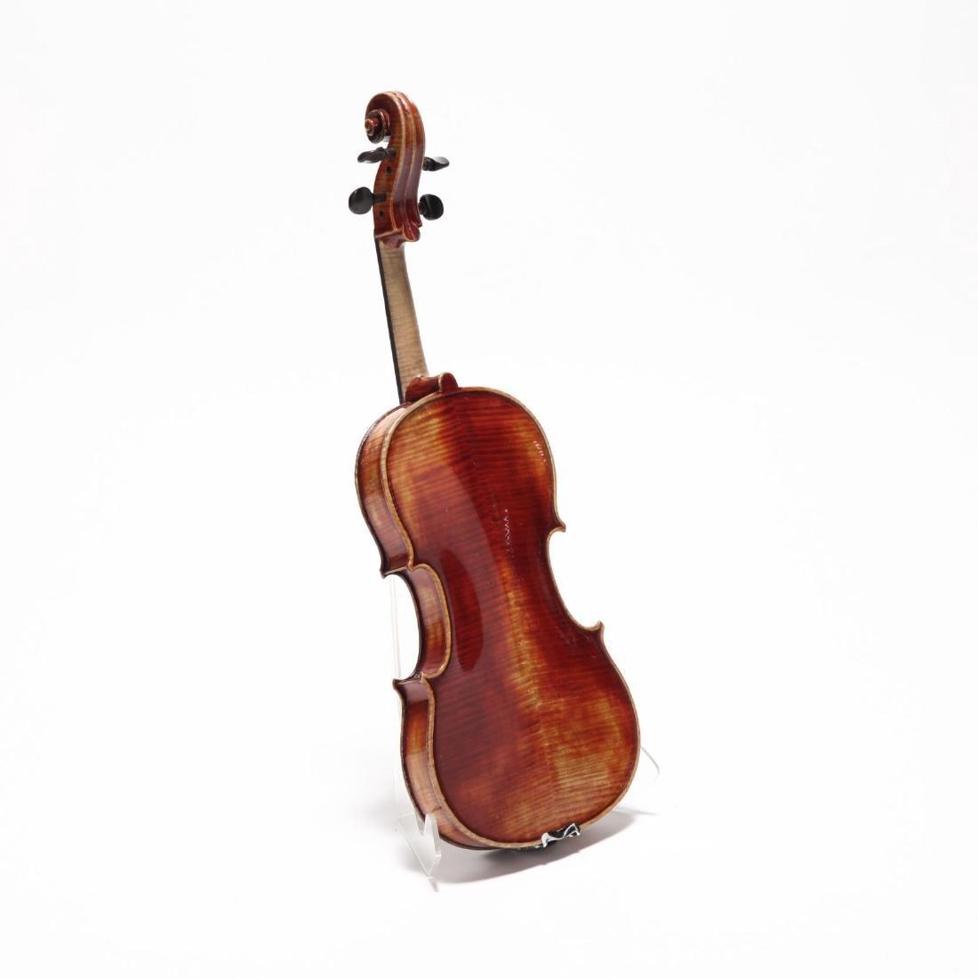 Vintage Czechoslovakian John Juzek Viola - 4