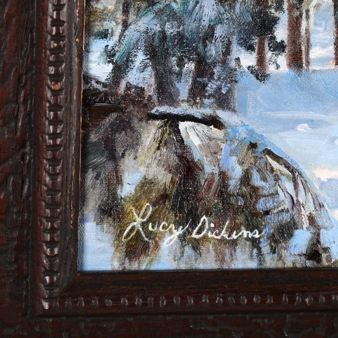 Lucy Dickins (AZ),  Winter Wonderland - 2