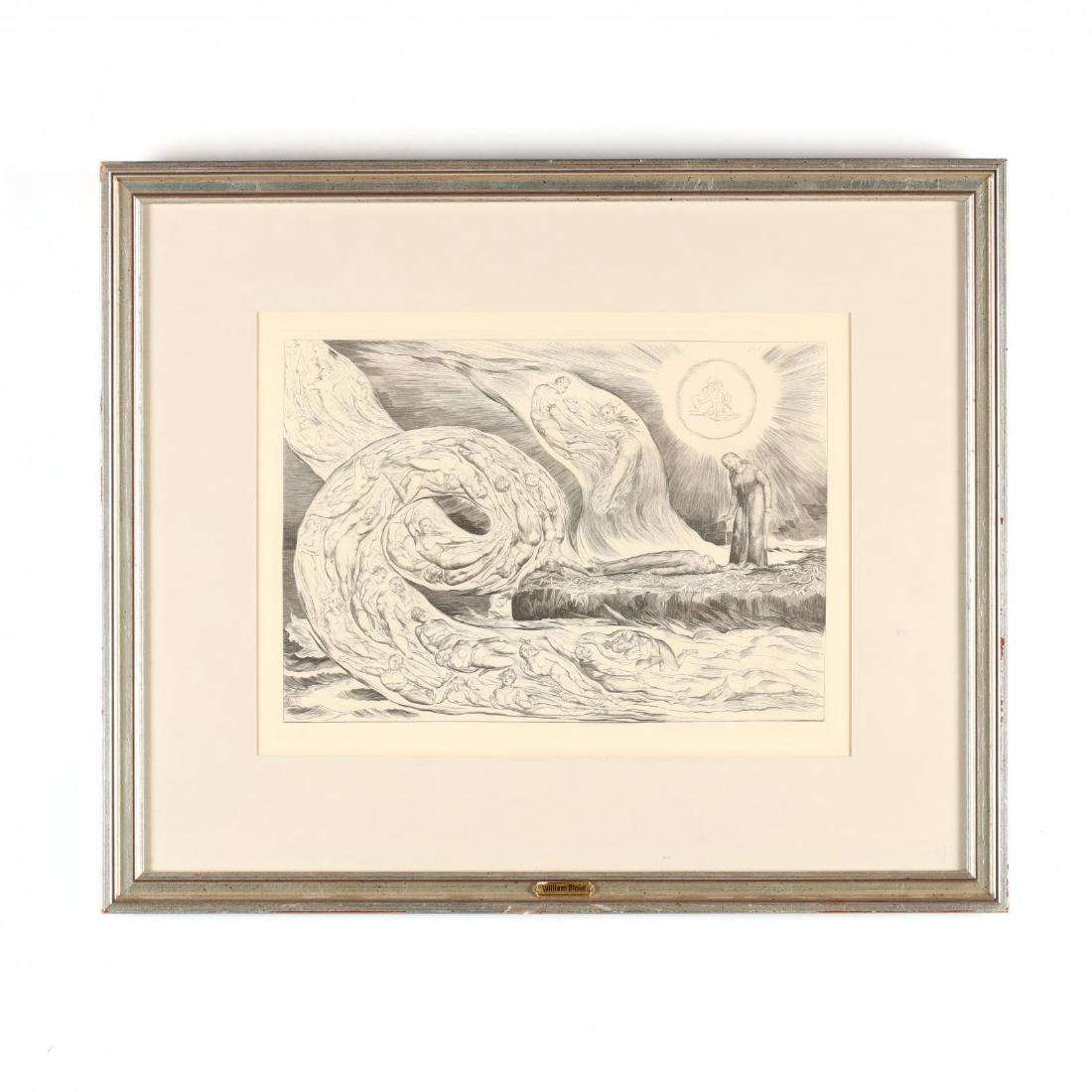 Two Framed Prints - Blake and Gropper - 2
