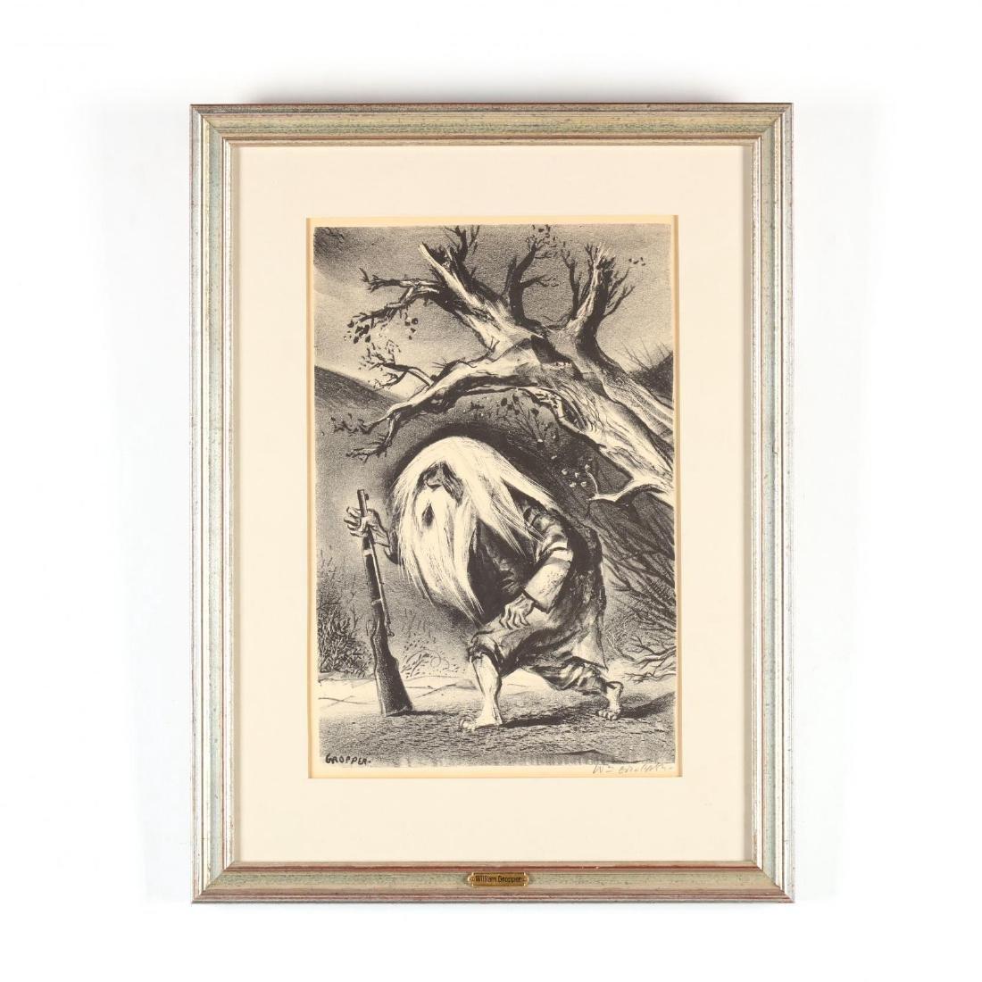 Two Framed Prints - Blake and Gropper - 6