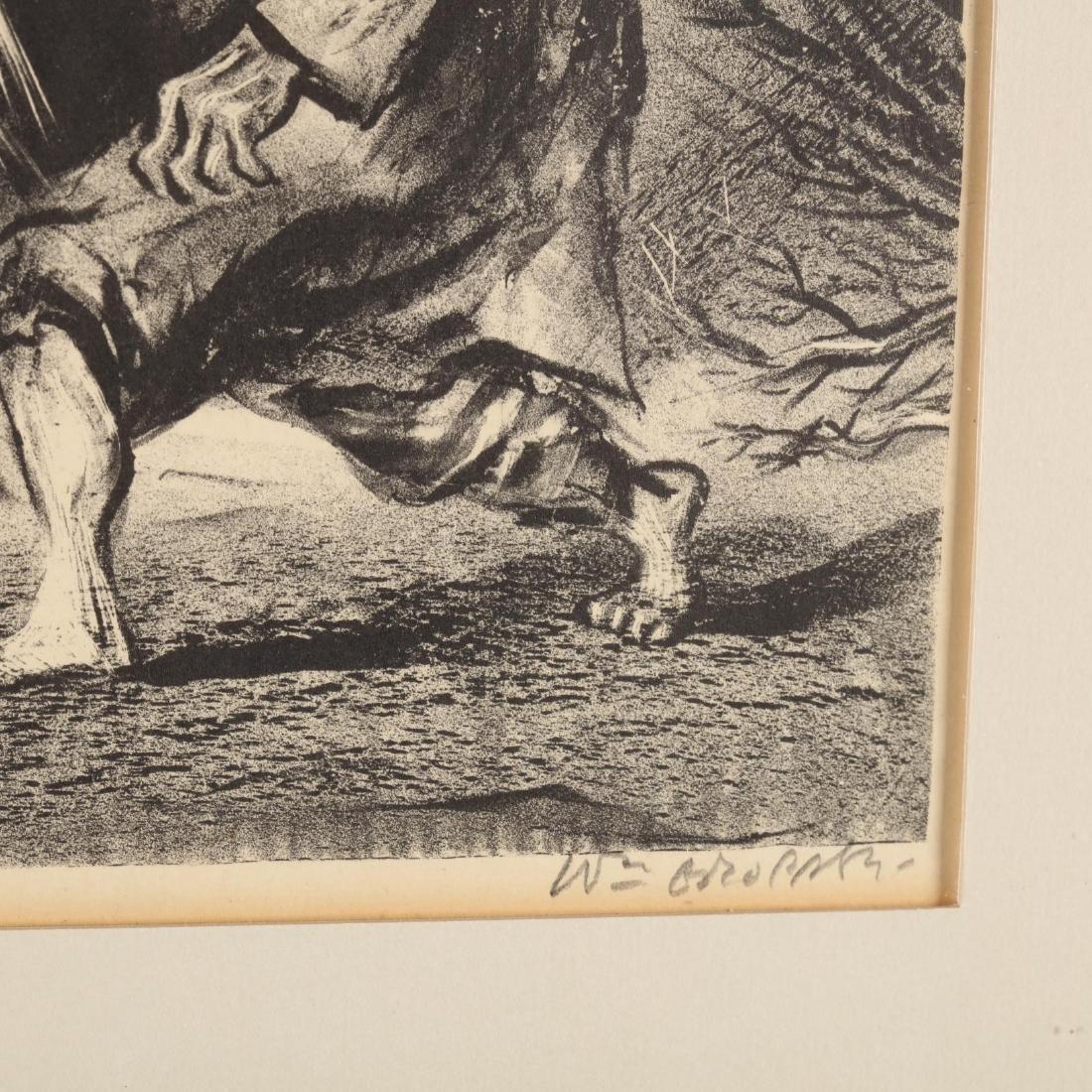 Two Framed Prints - Blake and Gropper - 7