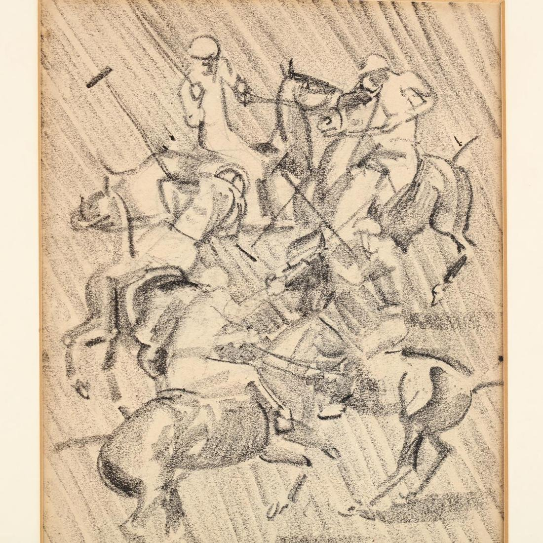James Louis Lundean (NY/IA, 1894-1961), Polo Players - 2