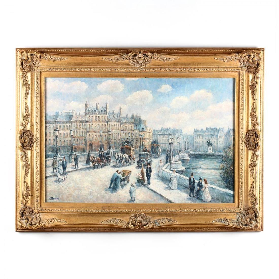 Gail Sherman Corbett (1871-1952),  Pont Neuf, Paris