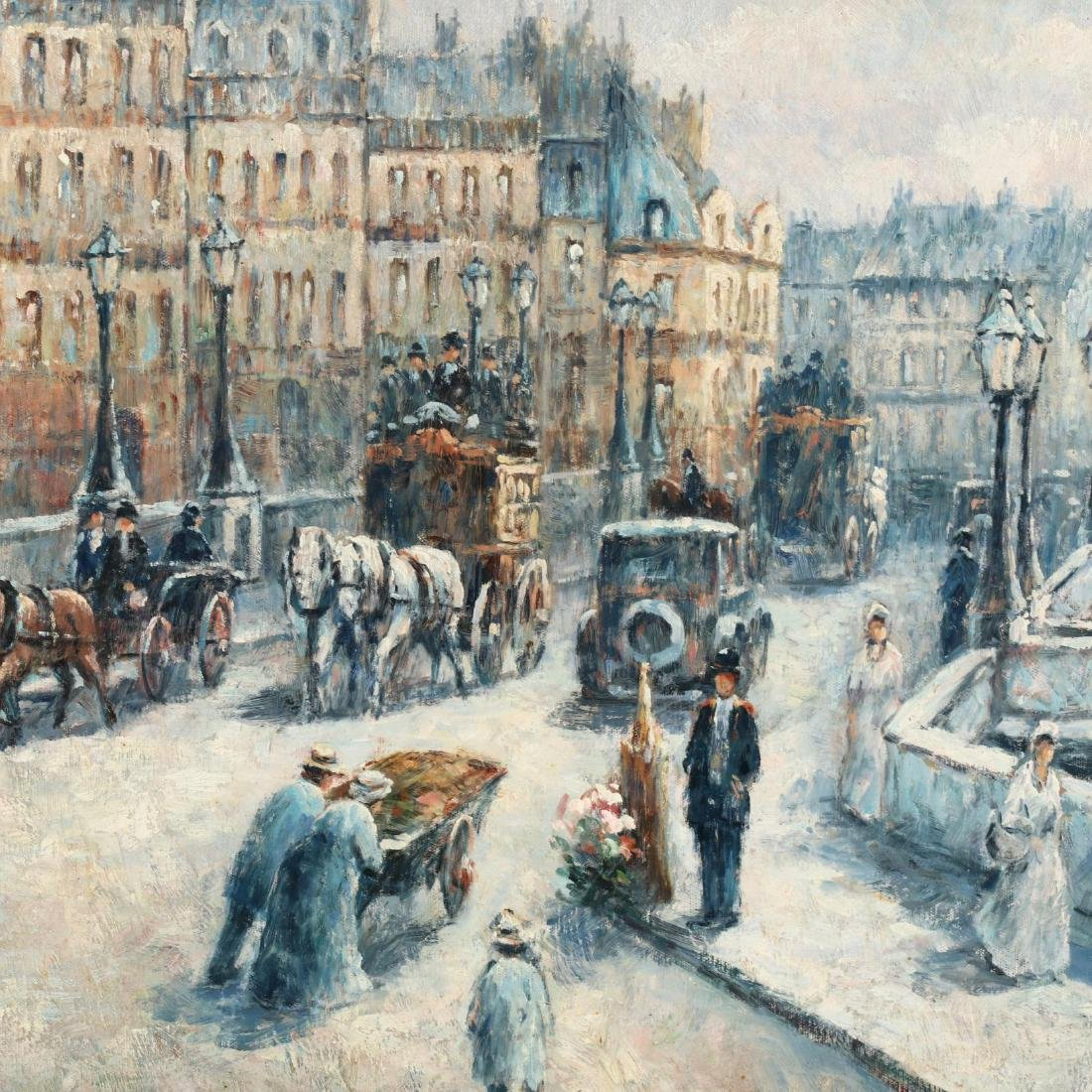 Gail Sherman Corbett (1871-1952),  Pont Neuf, Paris - 3