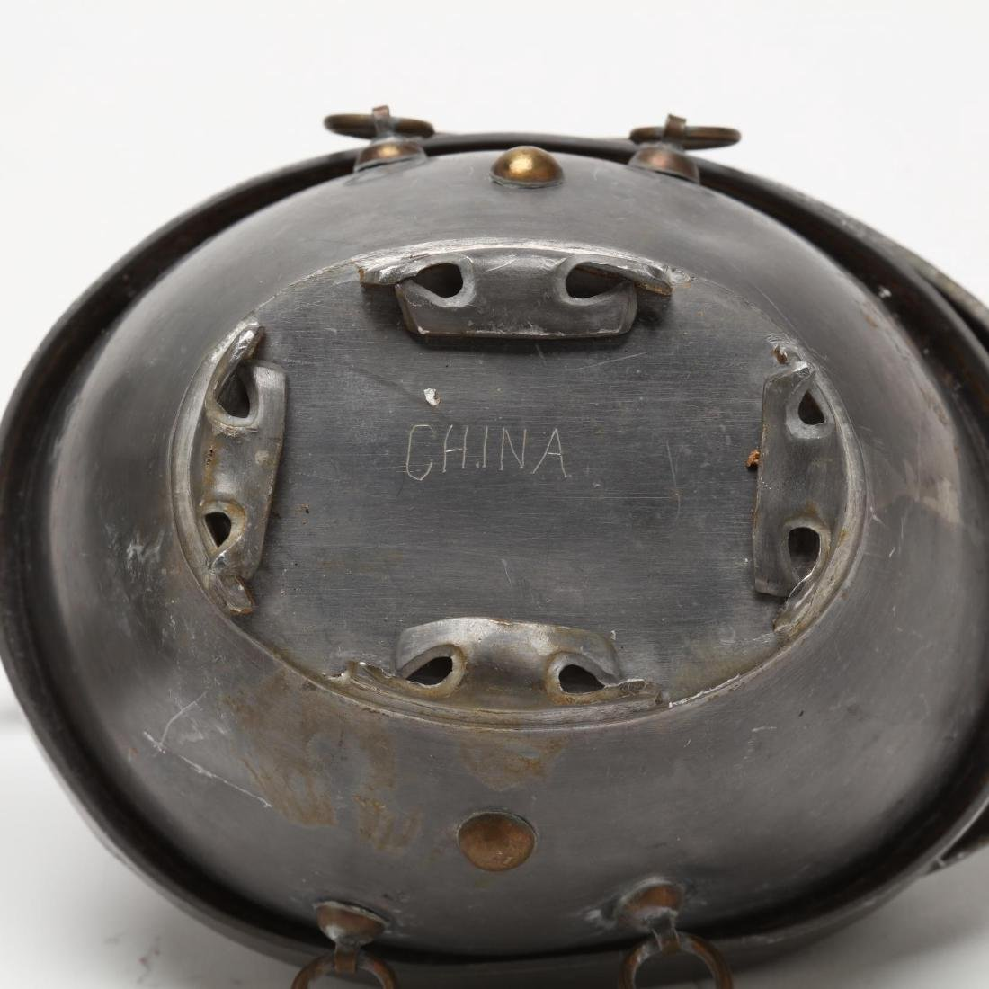 A Pair of Chinese Pewter Duck Containers - 4