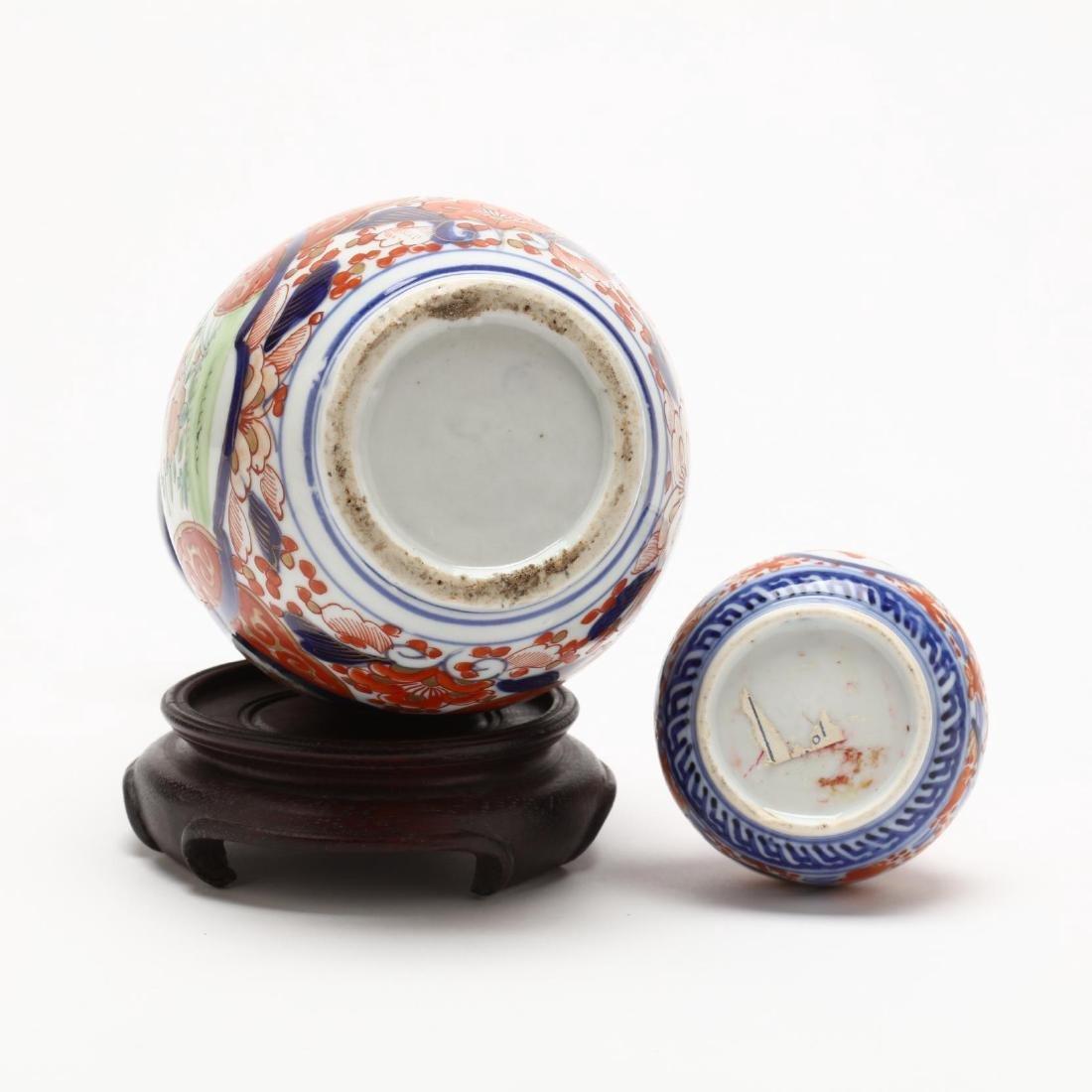 Two Japanese Imari Porcelain Vases - 4