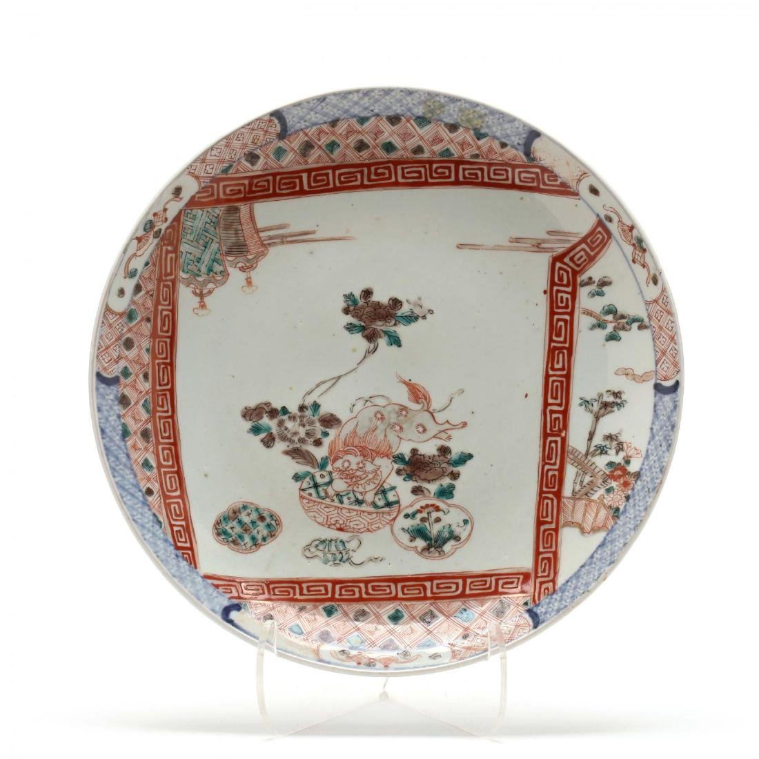 A Japanese Imari Charger