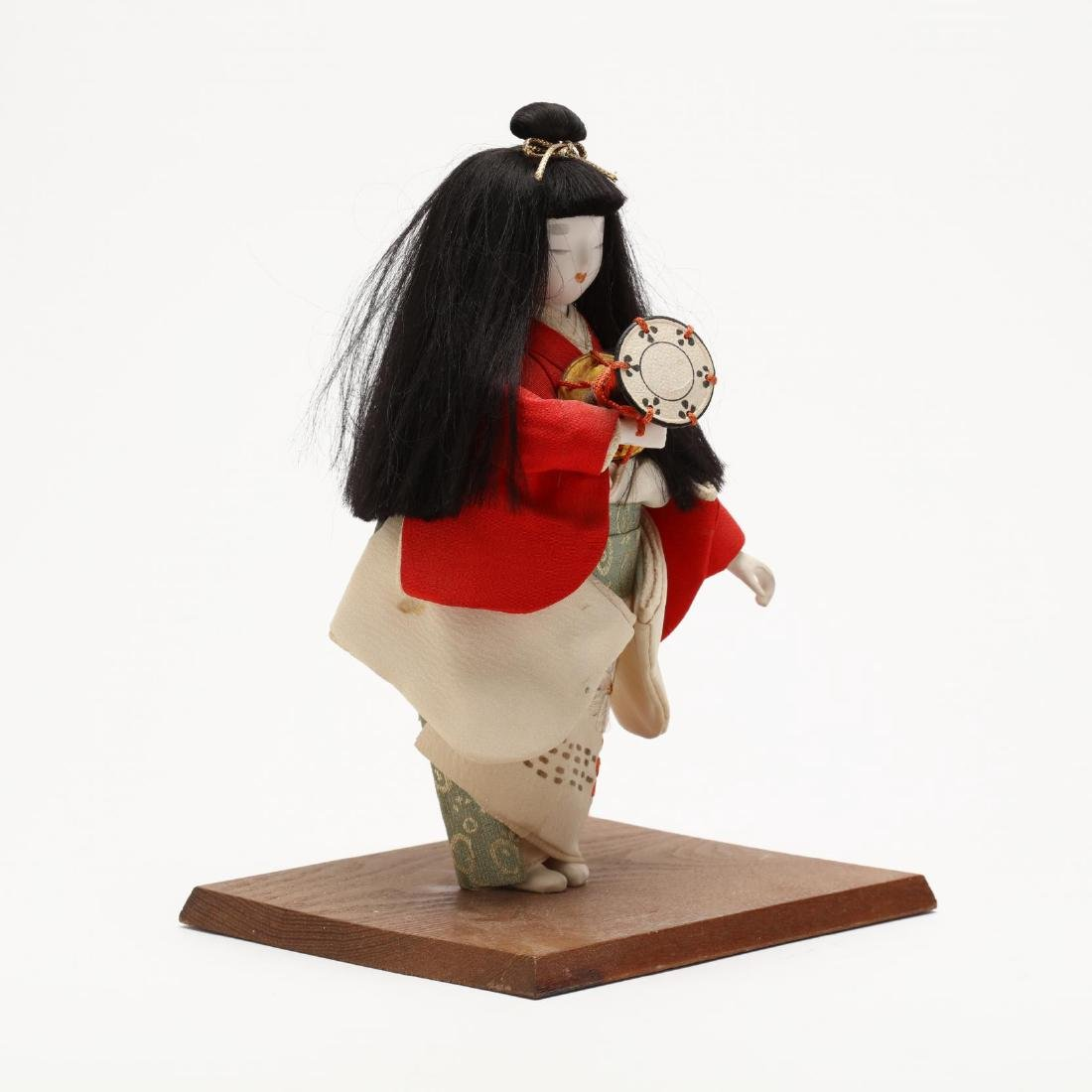 A Group of Five Japanese Dolls - 7