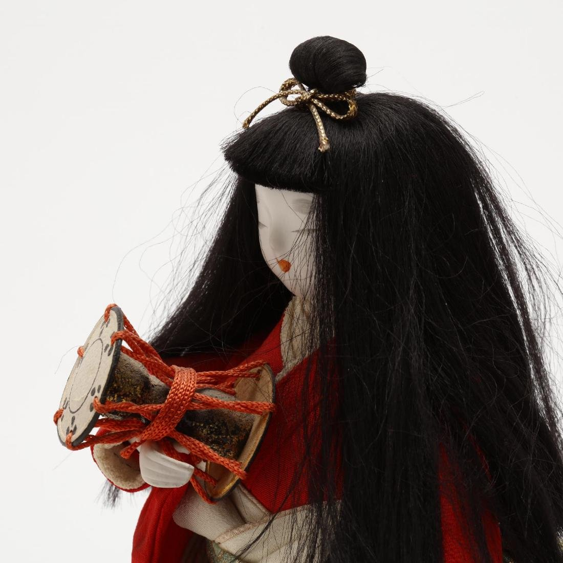 A Group of Five Japanese Dolls - 8
