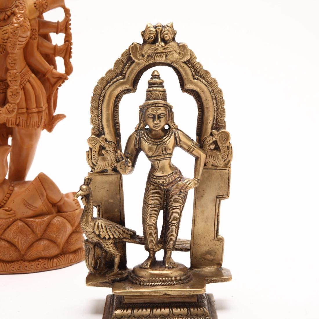 Two Vintage Hindu Sculptures - 2