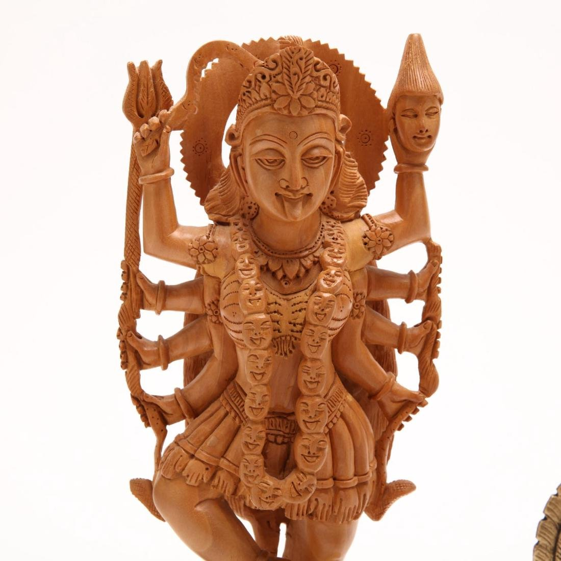 Two Vintage Hindu Sculptures - 3