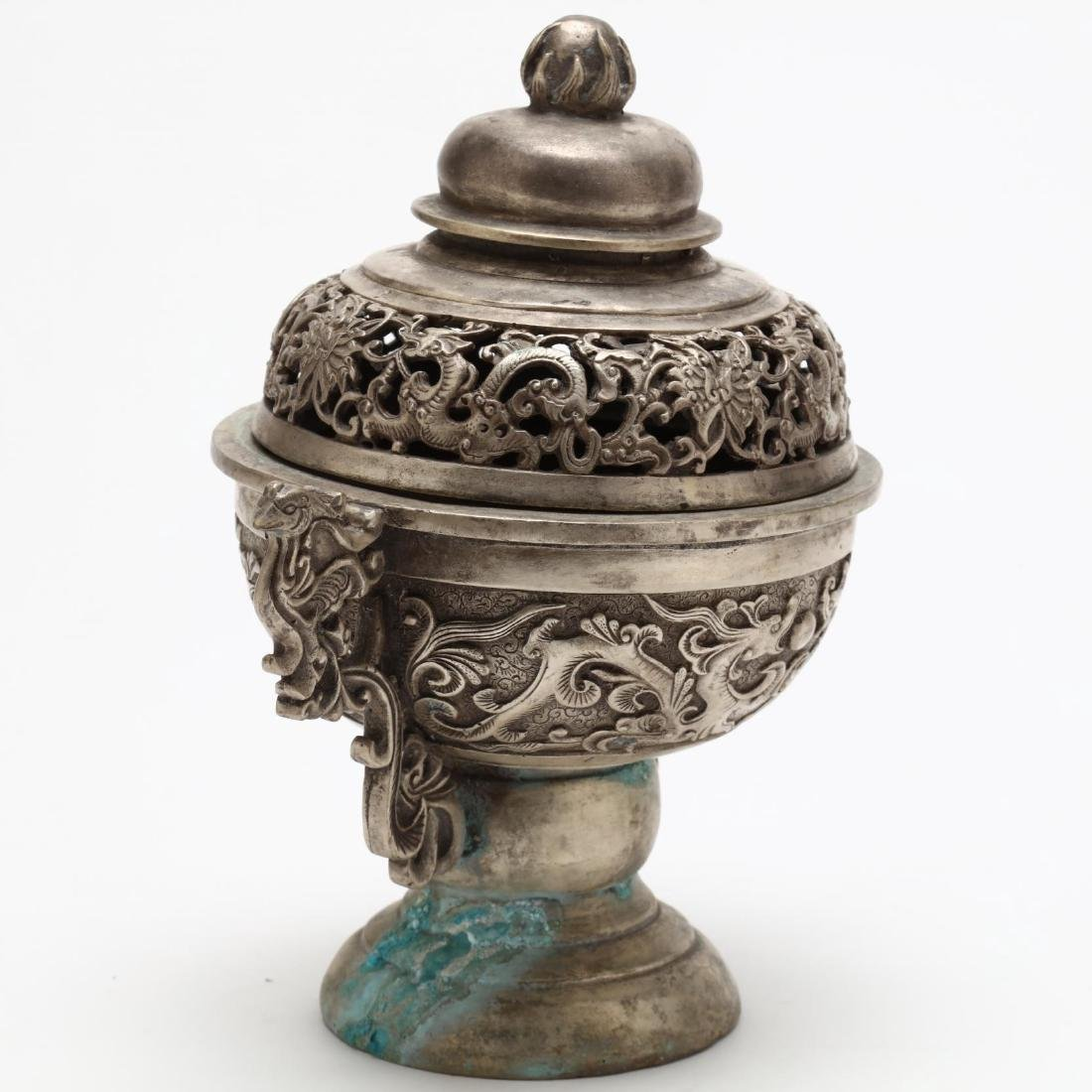 Two Chinese Incense Burners - 4