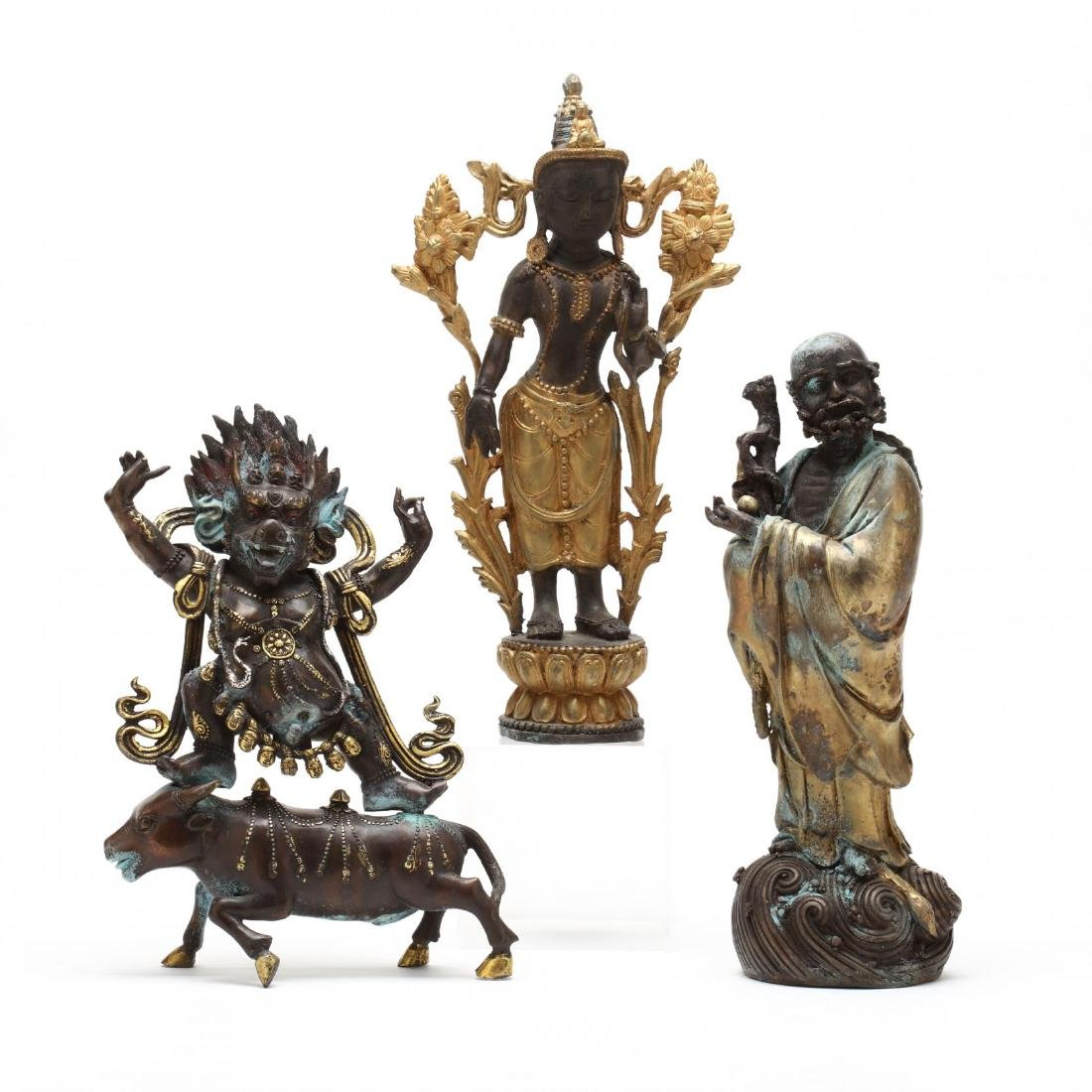 Three Buddhist Sculptures